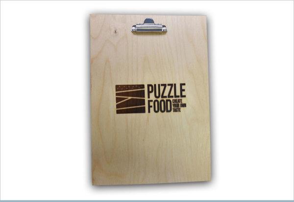 תפריט למסעדות PUZZLE FOOD