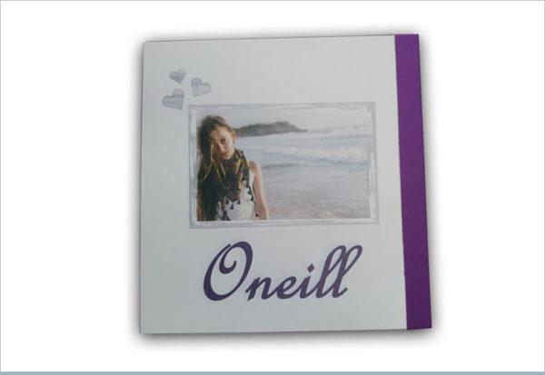 אלבום בת מצווה Oneill